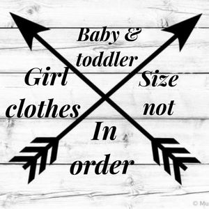 Other - Baby and toddler girl Clothes bundle to save